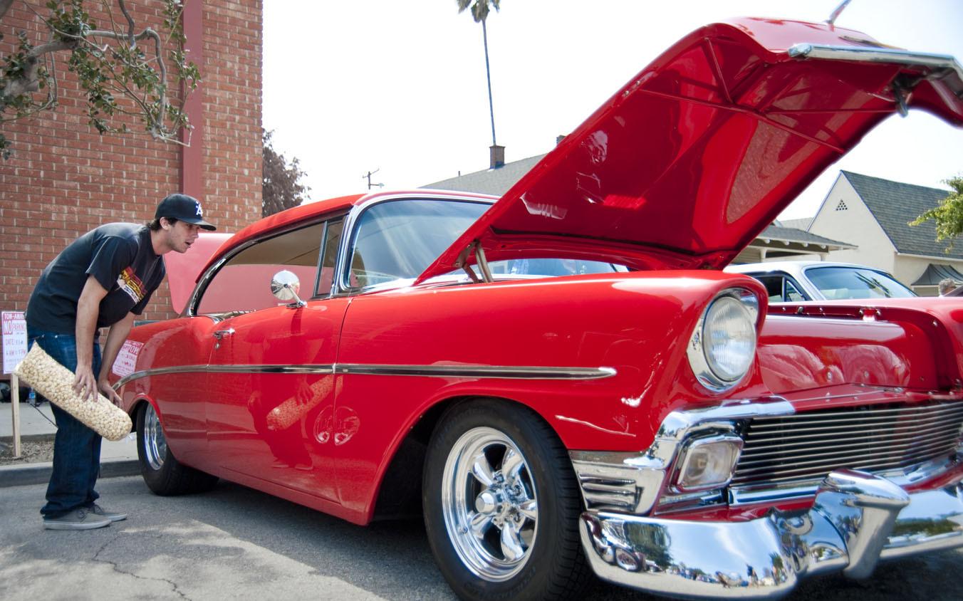 Restored 1956 Chevy