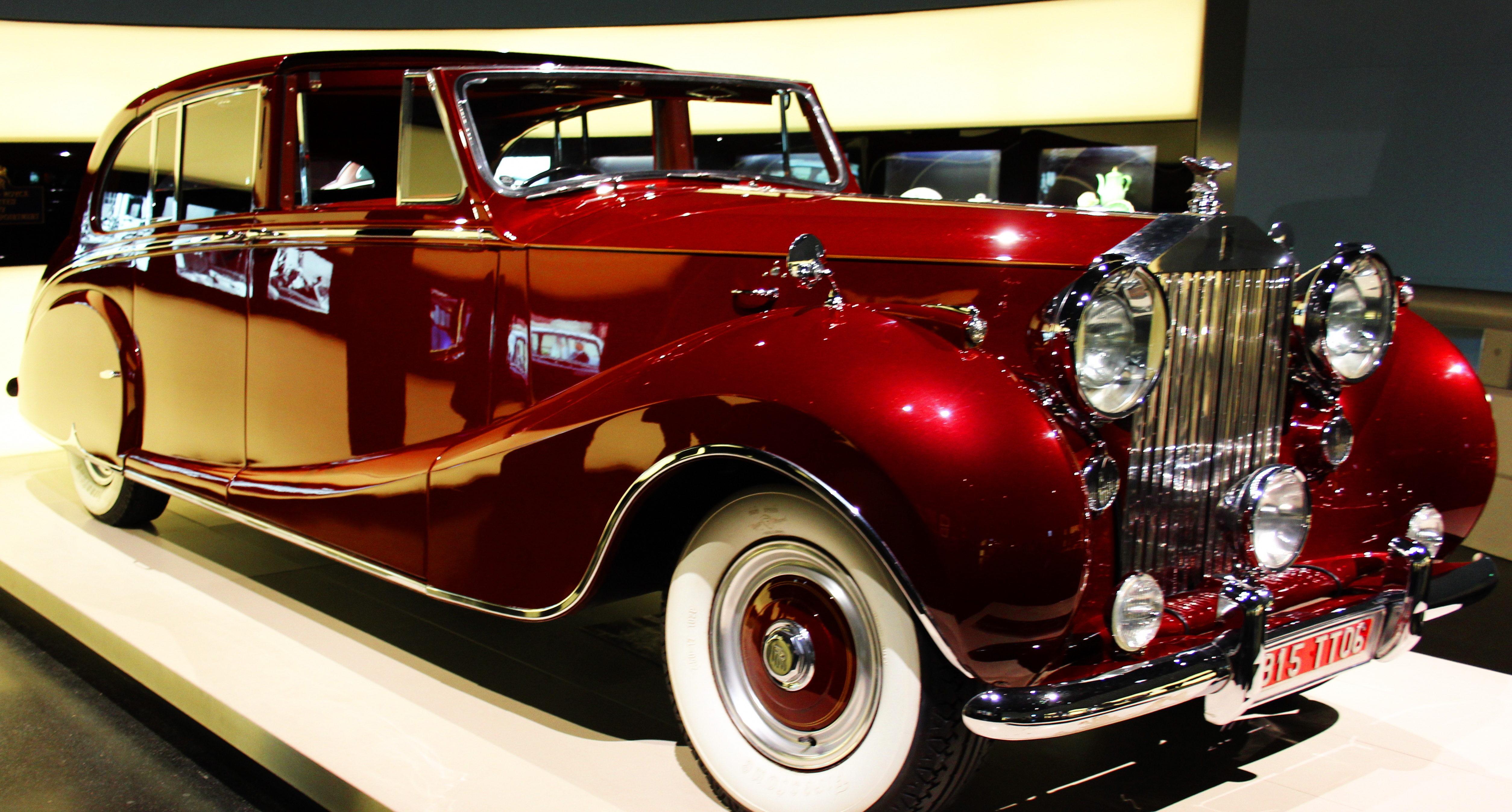 Beautiful restored Rolls Royce